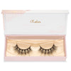 no. 99 3D mink lashes luxury lashes lotus lashes doll eyes ultra fluffy in packaging