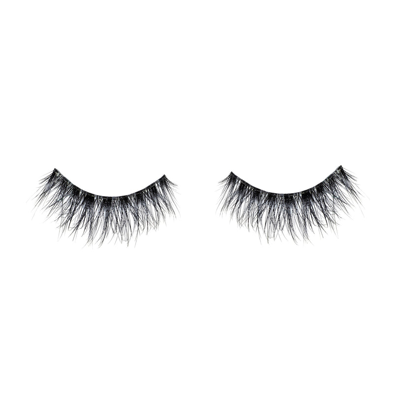 No. 510 LITE out of packaging lotus lashes 3d bandless mink lashes