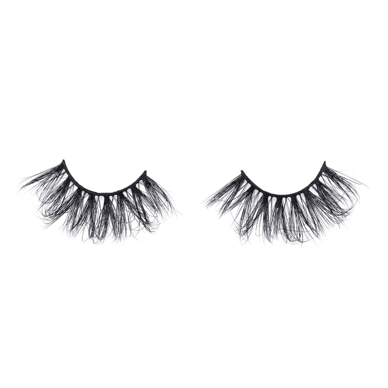 marquise diamond series 25mm mink lashes false eyelashes lotus lashes out of packaging