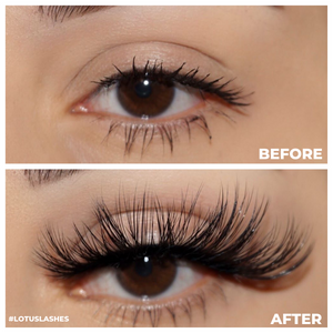 temptress faux mink lashes 25 mm mink lashes false eyelashes before and after lotus lashes
