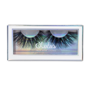 Temptress faux mink lashes vegan lotus lashes in packaging