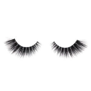 xoxo mink lashes false eyelashes lotus lashes invisible band out of packaging