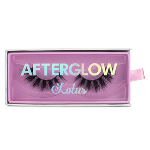 afterglow clout 3d mink lashes false eyelashes lotus lashes in package