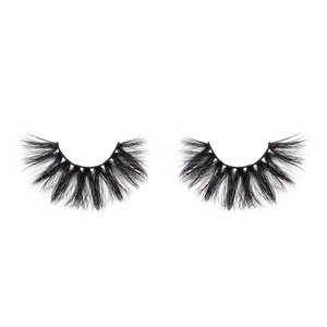 afterglow 25mm fame mink lashes false eyelashes out of packaging