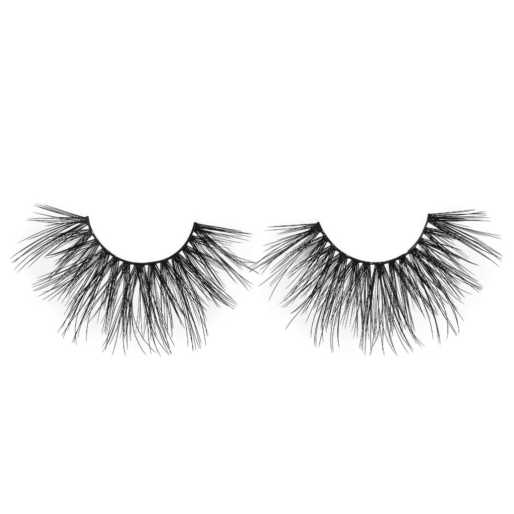 femme fatale 25 mm faux  mink lashes false eyelashes lotus lashes out of packaging