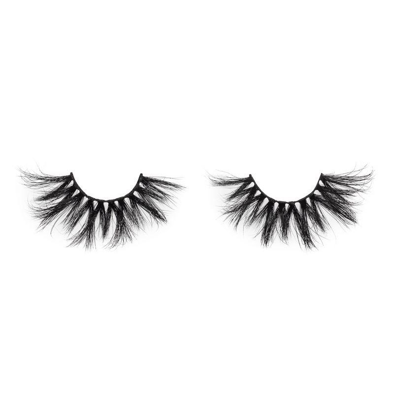 afterglow 25mm flex mink lashes false eyelashes out of packaging