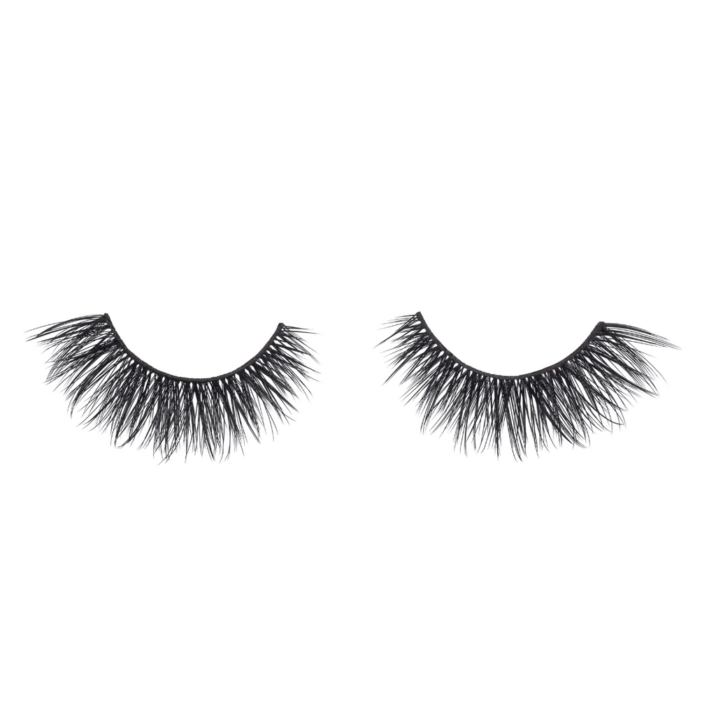 fx35 faux mink lashes false eyelashes lotus lashes out of packaging