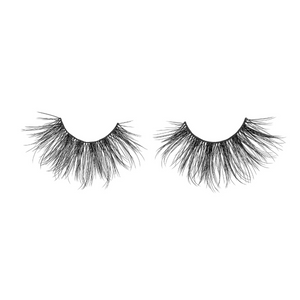 goddess 25 mm faux mink lashes false eyelashes lotus lashes out of packaging