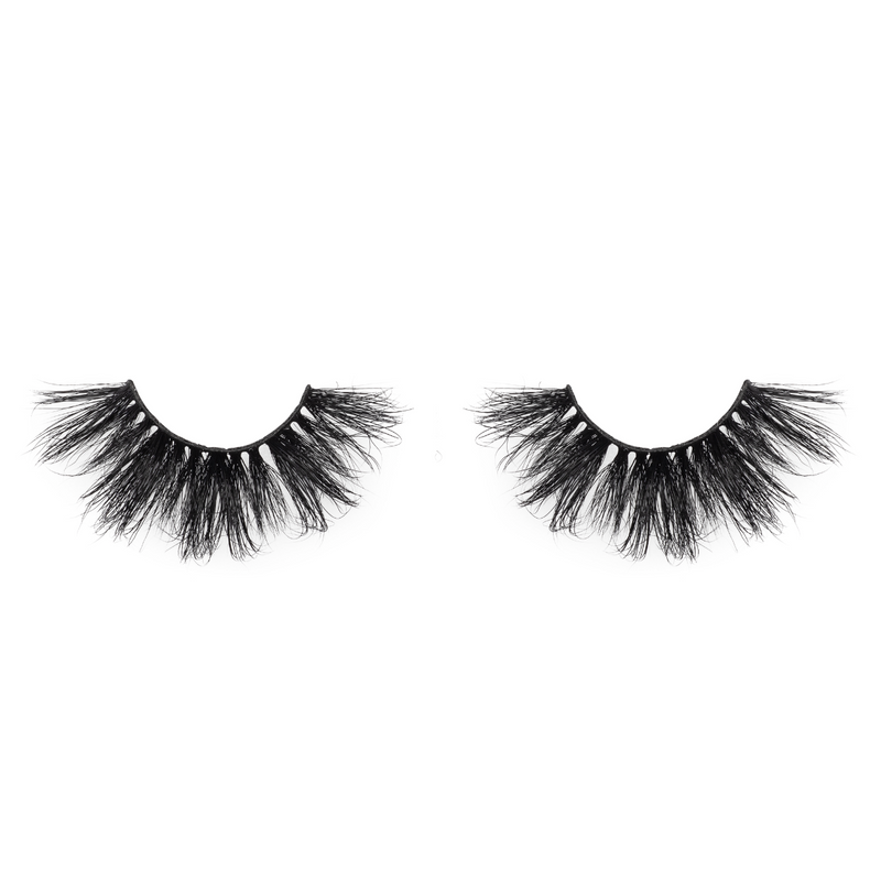 afterglow 25mm go off mink lashes false eyelashes out of packaging