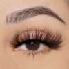 heartbreaker faux mink lashes 25 mm false eyelashes vegan close up