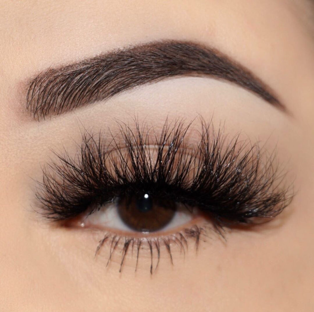 Princess Cut Mink Lashes 3d mink lashes Diamond Series close up false eyelashes Lotus Lashes