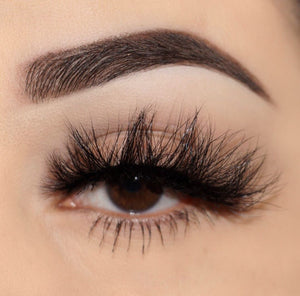 Certified Mink Lashes Diamond Series 3d mink lashes close up false eyelashes Lotus Lashes
