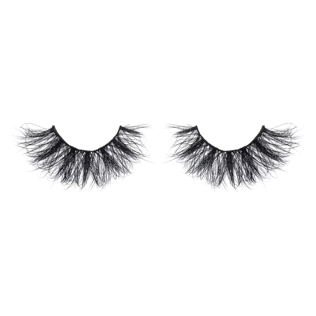 afterglow 25mm lavish mink lashes false eyelashes out of packaging