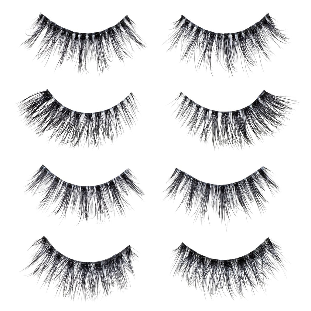 lotus lashes lite collection set mink lashes false eyelashes