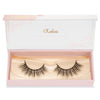 no. 105 mink lashes luxury lashes lotus lashes in packaging
