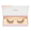 no. 114 3D mink lashes invisible clear band luxury lashes lotus lashes in packaging