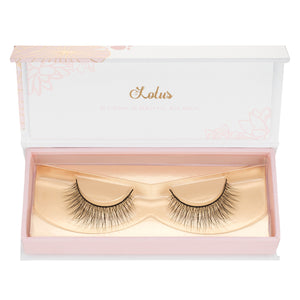 no. 116 mink lashes luxury lashes lotus lashes in packaging
