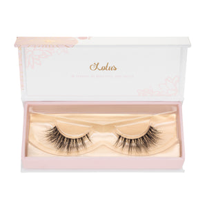 no. 117 3D mink lashes invisible clear band luxury lashes lotus lashes in packaging