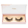 no. 217 mink lashes luxury lashes lotus lashes winged in packaging