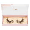 no. 410 mink lashes luxury lashes lotus lashes doll eyed in packaging