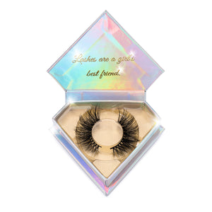 Certified 3D Mink Lashes Diamond Series in packaging false eyelashes Lotus Lashes