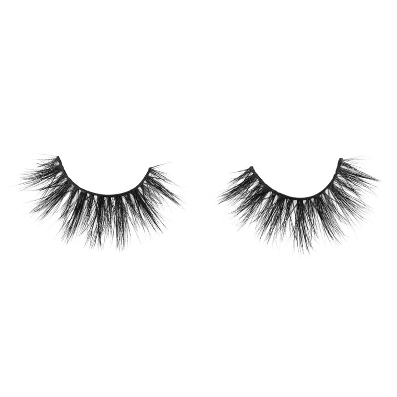 no. 308 3D mink lashes luxury lashes lotus lashes close up