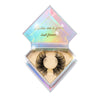 Princess Cut 3D Mink Lashes Diamond Series in packaging false eyelashes Lotus Lashes