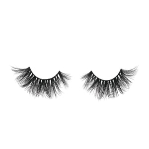 Princess Cut 3D Mink Lashes Diamond Series out of packaging false eyelashes Lotus Lashes