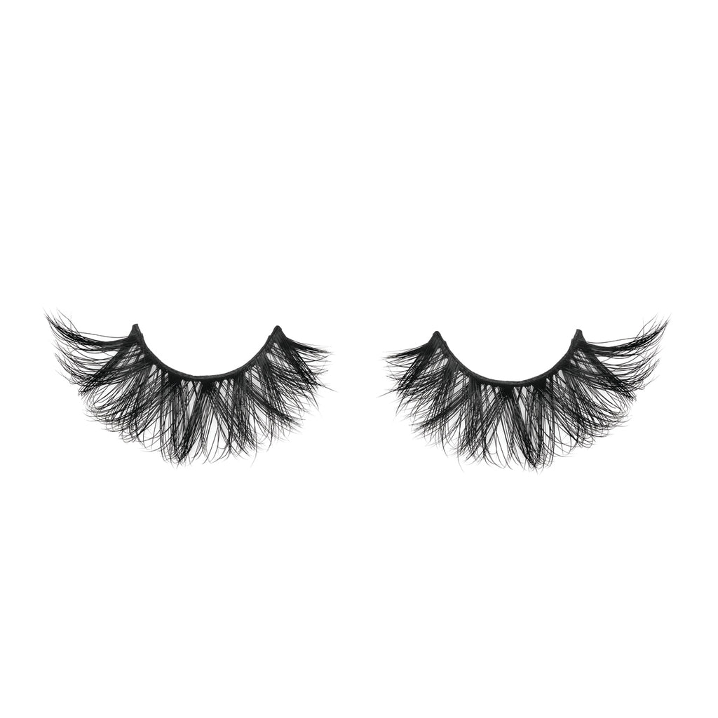 VVS 3D Mink Lashes Diamond Series out of packaging false eyelashes Lotus Lashes