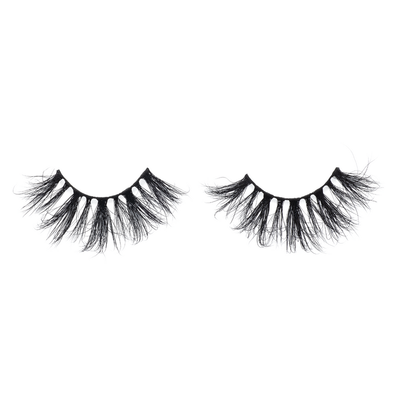 afterglow 25mm my way mink lashes false eyelashes out of packaging