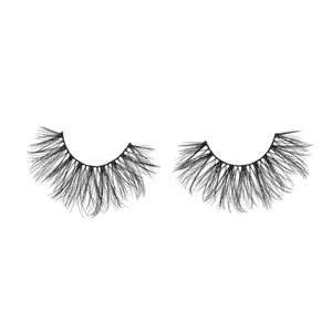 seductive 25 mm faux mink lashes false eyelashes lotus lashes out of packaging