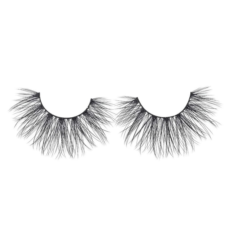 siren 25 mm faux mink lashes false eyelashes lotus lashes