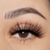 siren 25 mm faux mink lashes false eyelashes lotus lashes close up
