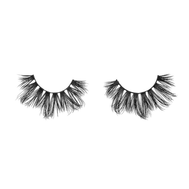 tease me 25 mm faux mink lashes false eyelashes lotus lashes out of packaging