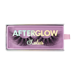afterglow 25mm tokyo mink lashes false eyelashes lotus lashes in packaging
