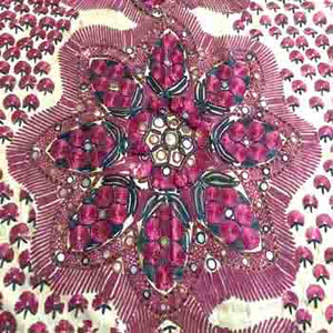 Antique Sindh Wedding Embroidery Shawl Textile Sindh