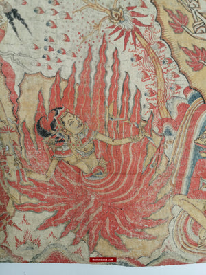 Antique Balinese Kamasan Paintings