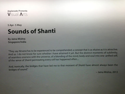 Exhibition of Photos by Jaina Mishra presented by Esplanade Singapore for Sounds of Shanti