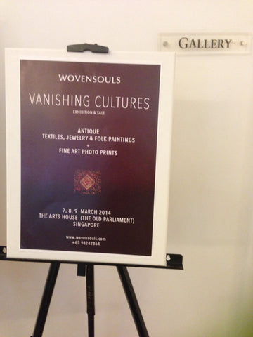 Vanishing Cultures Exhibition by WOVENSOULS ART GALLERY