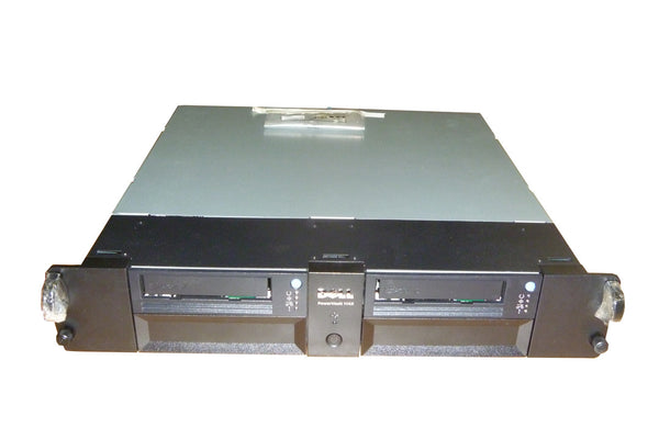 Powervault 114X 045H7 w/2 LTO3 HH SAS Tape Drives TPDCX