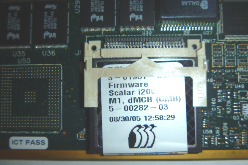 ADIC 3-01995-02 Flash Card With 600 Slot License. Chassis Management Board