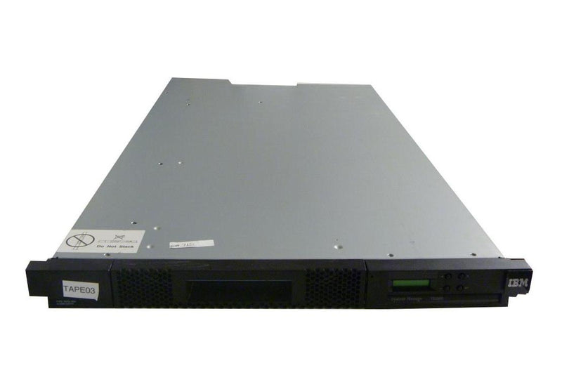 IBM 3572-S5H TS2900 9-Slot Autoloader With LTO5 HH V2 Tape Drive 46X8292