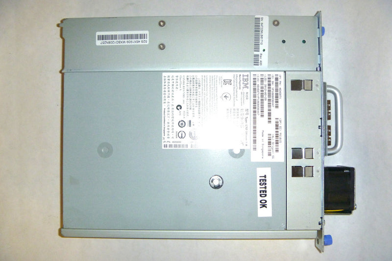 IBM 3573-8149 LTO4 SAS V2 Tape Drive In Tray For TS3100 TS3200