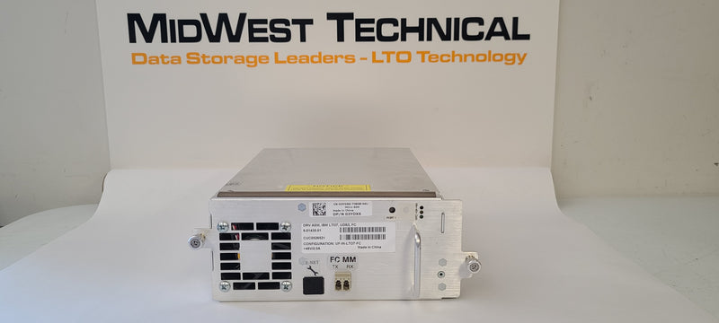 DELL 3YDX6 LTO7 FH FC Tape Drive in ML6000 Tray 8-01435-01 UF-IN-LTO7-FC IBM