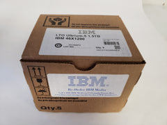 NEW! IBM LTO5 Media 46X1290 - 5 pack 46C2084