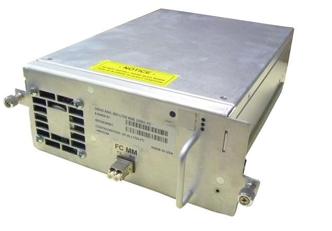 ADIC Quantum 8-00405-01 IBM i500 i2000 Library LTO3 FC Tape Drive With Tray