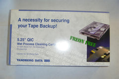 "Tandberg 8962 50 Cleanings 1/4"" QIC Tape Drive New Cleaning Kit - NEW!"
