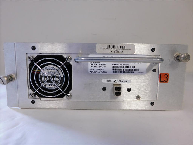 IBM 3583-8035 LTO3 FC Tape Drive In Library Tray
