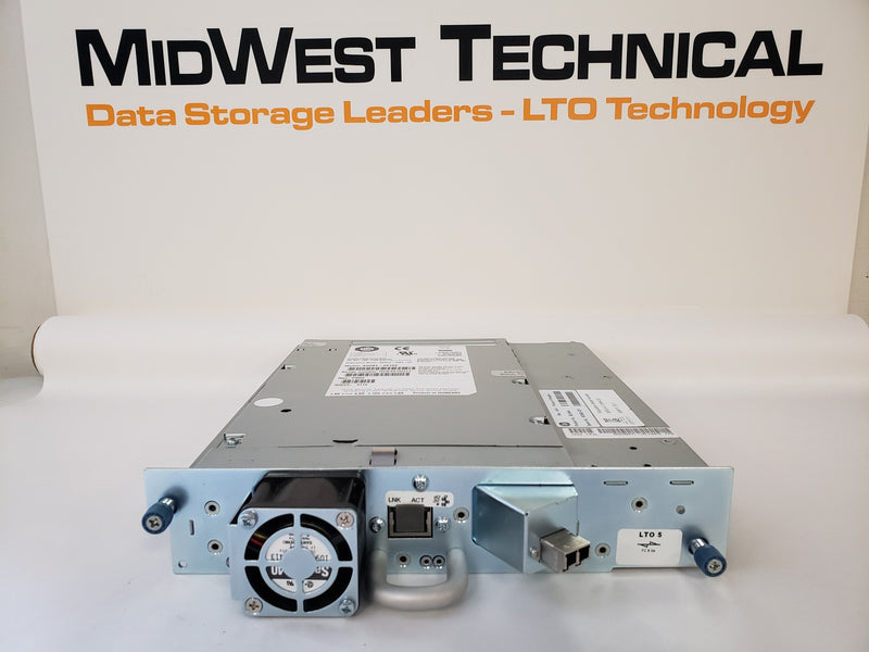 HP BL544A BL544B 603882-001 LTO5 FC HH Tape Drive w/ Tray for G2 MSL2024/48 Library