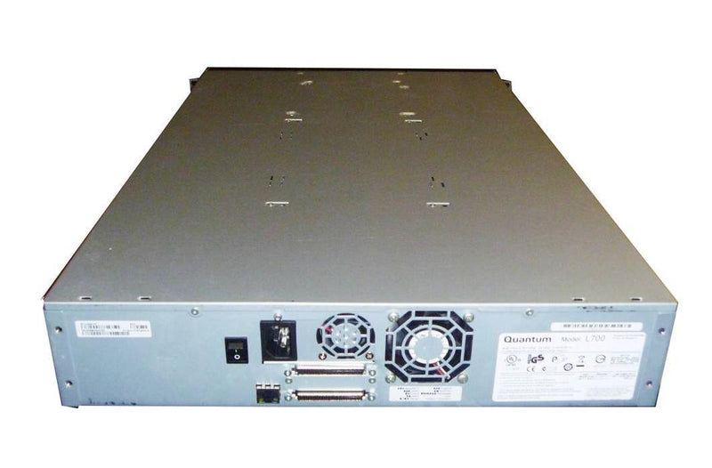Quantum EC-L2EAA-YF Superloader3 with LTO4 SCSI Tape Drive 16-Slot Autoloader
